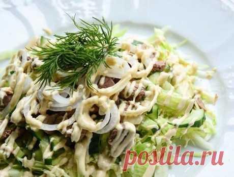 Идеальный легкий салатик на ужин - Советы для тебя