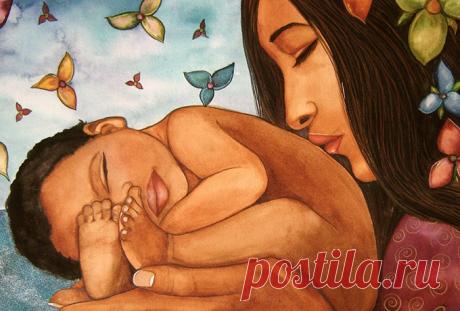 Мама лечит словами или мамин заговор на счастье