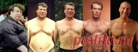 Он похудел на 100 кг без диет при помощи 7 правил, которые вывел самостоятельно – В РИТМІ ЖИТТЯ