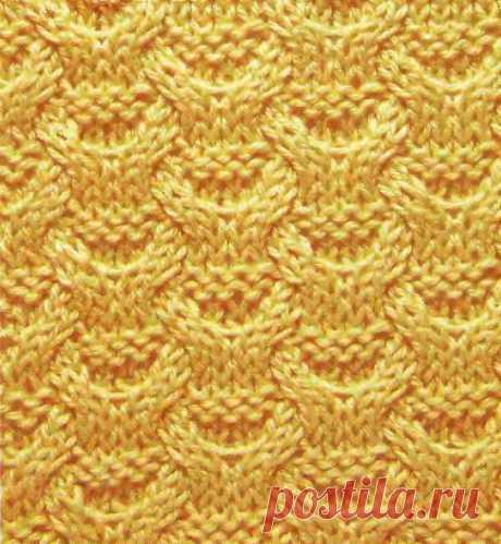 Узор Плетенка из кос 79 — Shpulya.com - схемы с описанием для вязания спицами и крючком