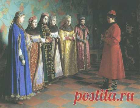 Царь Иван Грозный и его восемь жен:часть I - Первая русская царица - Анастасия .