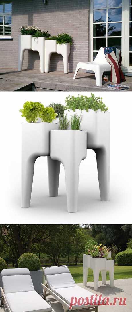 Все в сад! Идея для дизайна сада от KiGA