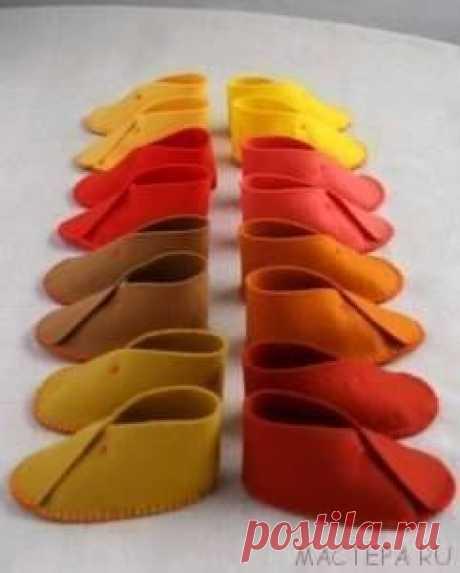 Шьём обувь / Удивительное искусство