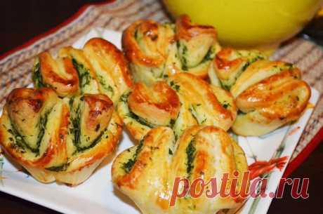Ароматная вкуснятина с чесноком и зеленью за 25 минут: обожаю такие рецепты! - Советы домохозяйкам