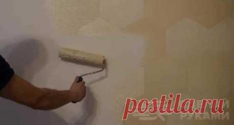 классная идея для отделки стен своими руками