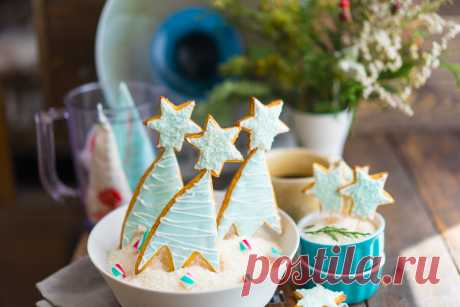Los melindres de jengibre - de Año Nuevo de las galletas con el glaseado - Andy Chef - el blog sobre la comida y los viajes, poshagovye las recetas, la tienda de Internet para los pasteleros