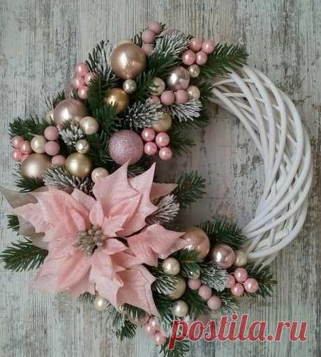 Новогодние венки — DIYIdeas