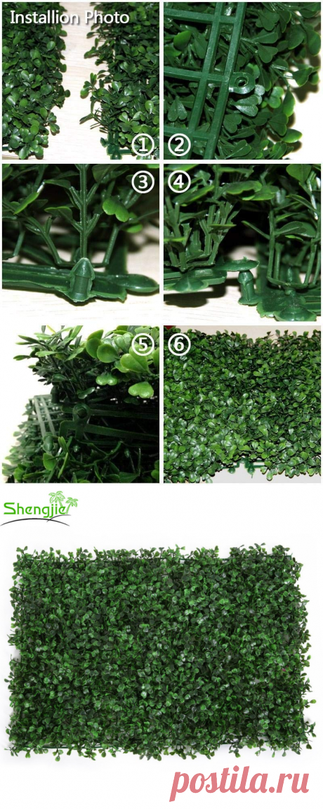 Wholesale Multifunctional artificial boxwood green grass board various styles soft and realistic indoor outdoor wall decoration From m.alibaba.com