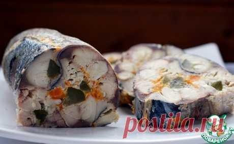 Рулет из скумбрии с морковью и яйцом - Супер-натюрморт! Аппетитный! Жуткое желание: Приготовить....!