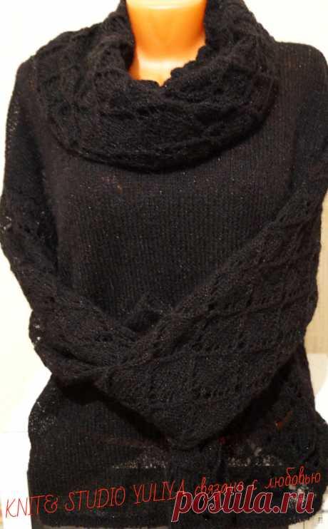 Мохеровый свитер на заказ