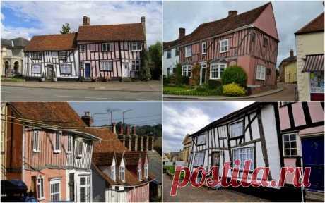 Королевство кривых домов: английская деревушка Лавенхэм