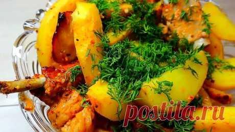 НЕРЕАЛЬНО вкусно СВИНЫЕ РЕБРА В ДУХОВКЕ с картошкой