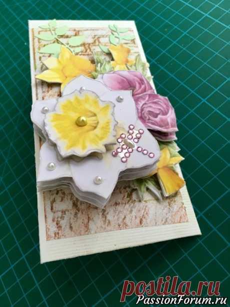 Поздравительный конверт/ Папертоль своими руками - запись пользователя Elena Shalena в сообществе Работа с бумагой в категории Открытки