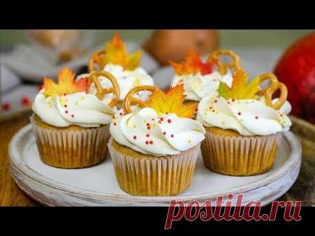 Тыквенные капкейки ✤ Pumpkin cupcakes