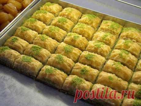 Как приготовить пахлава – традиционные греческие сладости с турецкими корнями - рецепт, ингредиенты и фотографии