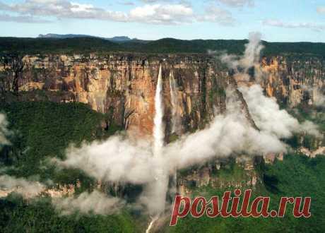 Водопад Анхель: чудо природы, в которое сложно поверить