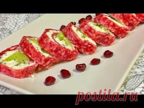 Оригинальная закуска которая обязательно пригодится вам на праздник!!. Рецепты закусок.