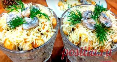 Салат на праздник - Лучший сайт кулинарии