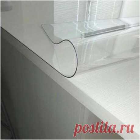 Защитная силиконовая скатерть на стол