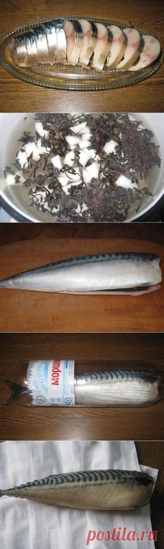 Потрясающая соленая скумбрия: ум отъешь! / Домоседы