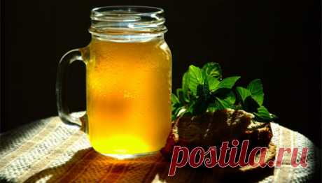 KVASS FOR WEIGHT LOSS AND CLEANING OF THE ORGANISM