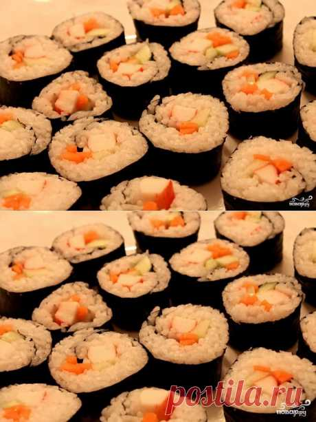 I show how to make sushi (beaters) in house conditions. If you never before tried to cook sushi (beaters) of the house - try. Process simple and fascinating, and result - very tasty!