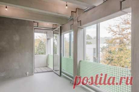 Wohnregal - это сборный бетонный жилой дом в Берлине.
