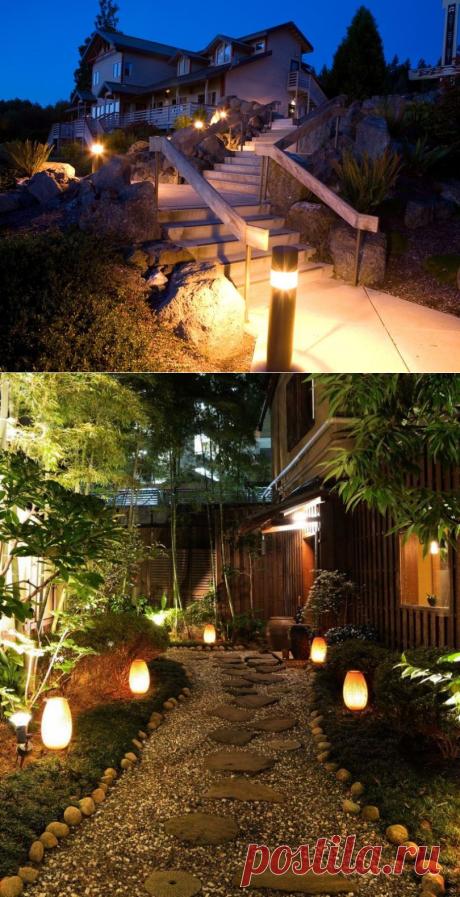 Уличные светильники: 10 вариантов уличных светильников