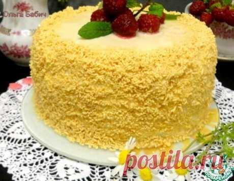 """Торт """"Белое танго"""" – кулинарный рецепт"""