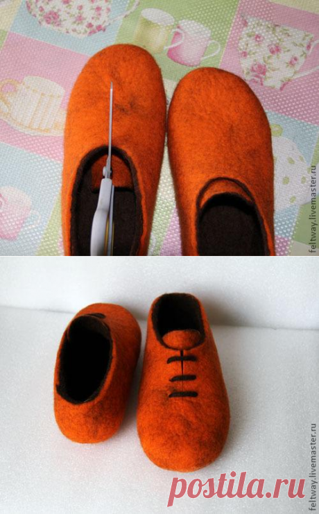 faca001c2e7e ВАЛЯНИЕ Обуви | Марыся Воздушная | Идеи и фотоинструкции бесплатно ...