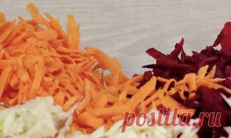 Свекла новым способом: сочный салат на замену винегрету
