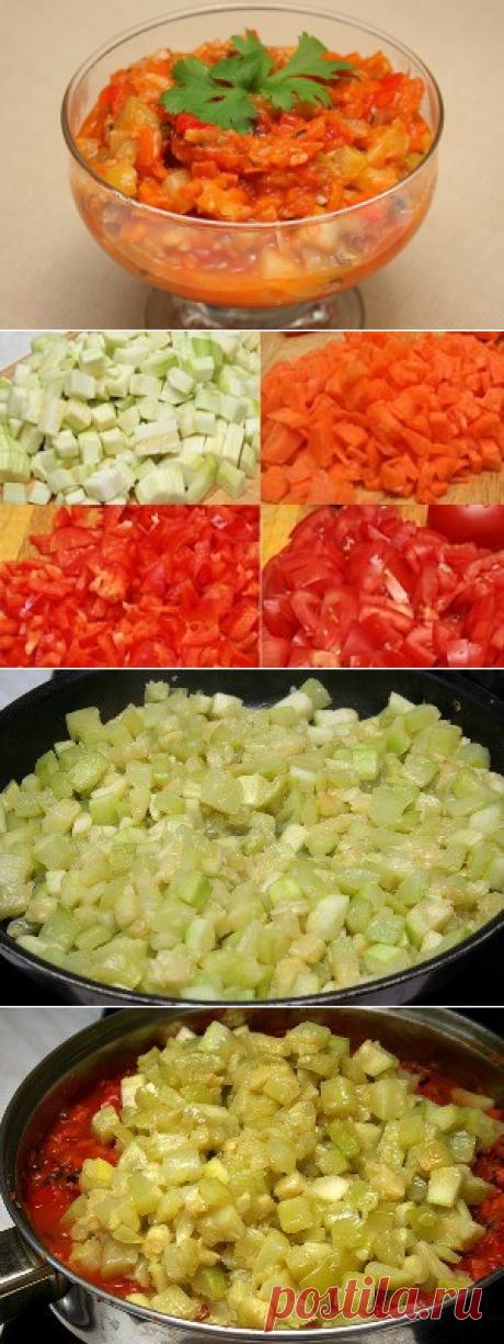 Как приготовить лечо из кабачков нежное.  - рецепт, ингредиенты и фотографии
