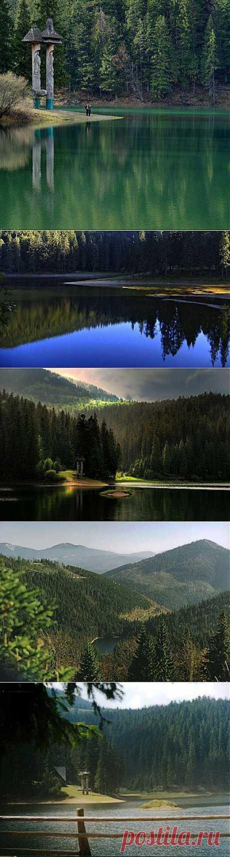 Жемчужина Карпат - озеро Синевир / Туристический спутник