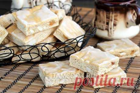 Медовое печенье «Лекерли», рецепт с фото