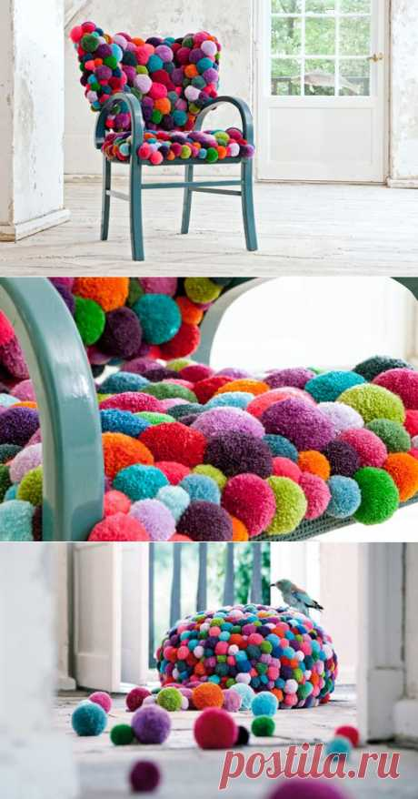 Яркий и теплый интерьер. Пригодится для накрытия любой мебели. Изобилие цветов повышает настроение.
