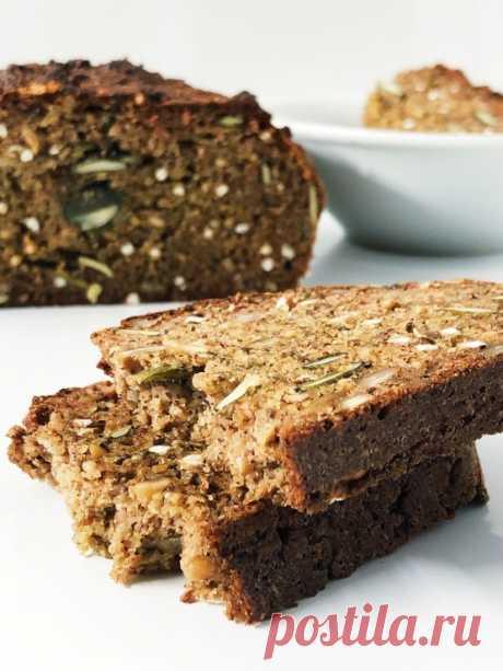 Хлеб из миндальной и гречневой муки   Urbanfood