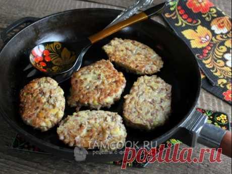 Гречаники без мяса (с картофелем) на сковороде — рецепт с фото Вегетарианский вариант гречаников - с картофелем.