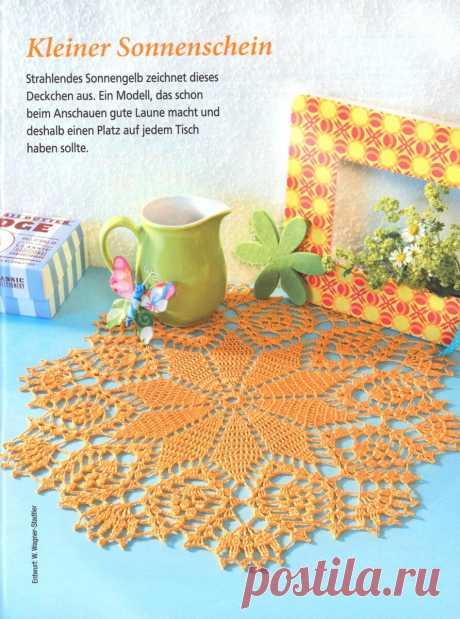 Оранжевые салфетки и 12 схем к ним | NataliyaK | Яндекс Дзен