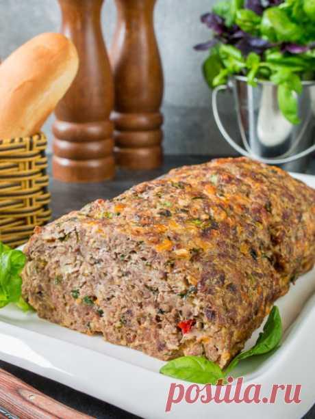 Рецепт мясной буханки с овсяными хлопьями на Вкусном Блоге