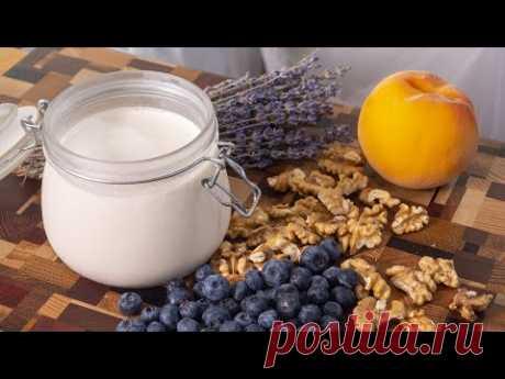 Йогурт своими руками. Делаю без йогуртницы в домашних условиях. Очень легкий завтрак.