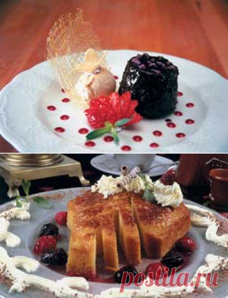 ШОКОЛАДНЫЙ ТОРТИК С МОРОЖЕНЫМ — АРЕНА Шоколадный тортик с мороженым Ингредиенты:  Тортик: Шоколад — 250 г Сахар — 1/2 стакана Сливки — 1 ст.л. Яйца — 2 шт. Мука — 3/4 стакана  Глазурь: Шоколад — 150 г Масло раст. — 200 г Молоко — 20 г Кленовый сироп — 1 ч.л.  Клубничный соус: Клубника — 200 г Сахар — 20 г Листик из карамели: Сахар — 100 г Вода — 50 г