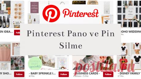 Pinterest Pano ve Pin Silme 2020 Pinterest Pano ve Pin Silme 2020,pinterest pano nasıl silinir,pinterest pin nasıl silinir resimli olarak anlattım.#pinterest,#pinterestpanosilme,#pinterestpinsilme,#pinterestdersleri,
