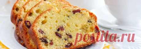 Кекс на кефире с сухофруктами • Рецепт Очень нежный, вкусный и легкий домашний кекс на кефире с сухофруктами. А рецепт приготовления выпечки в духовке простой и быстрый.