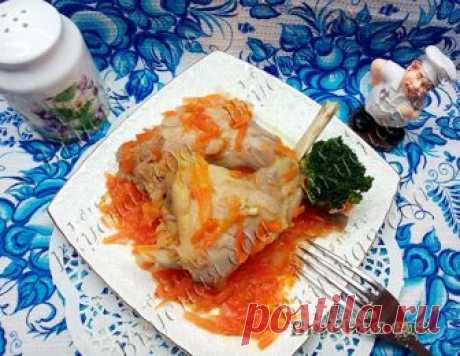 Кролик белом вине - с овощами - Вкусная еда