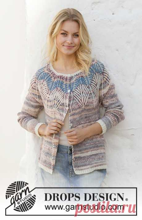 Жакет Egyptian Feathers - блог экспертов интернет-магазина пряжи 5motkov.ru