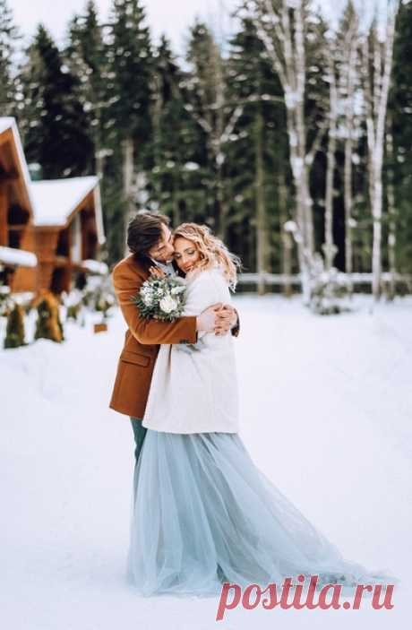 ❄ Winter Pool Wedding ❄