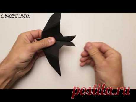 Оригами самолёт - ласточка