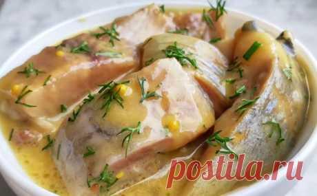 Селедка в горчичном соусе: готовим главную закуску финнов