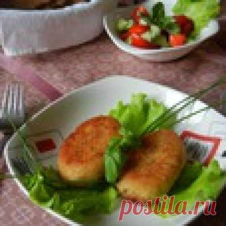 Картофельно-рыбные котлеты Кулинарный рецепт
