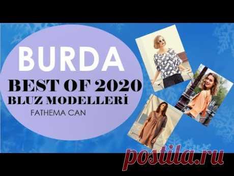BURDA BEST OF 2020 / BLUZ MODELLERİ - YouTube